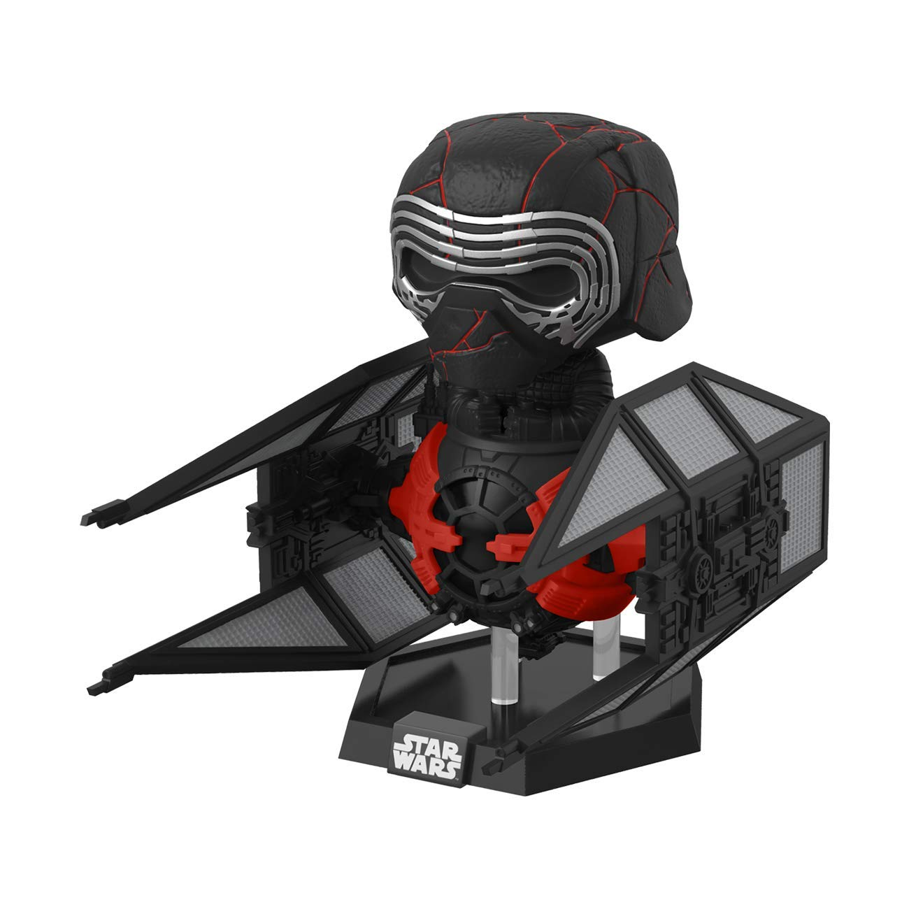 61H4Vz1zurL. SL1300 - Funko Pop! Deluxe Star Wars: Episode 9, Rise of Skywalker - Supreme Leader Kylo Ren in The Whisper