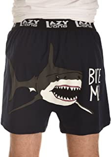 71 38zZkZqL. AC UL320 ML3 - Soft Shark Boxers for Men by LazyOne