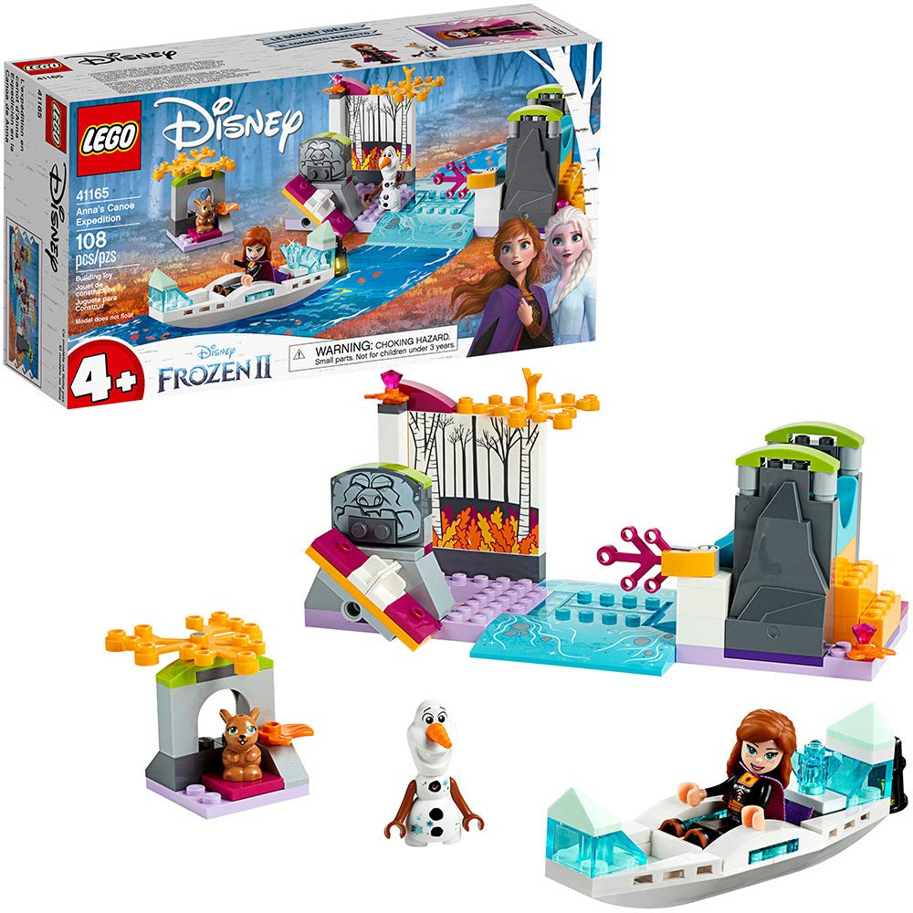 71LWnBfgtfL. SL1000 - LEGO Disney Frozen II Anna's Canoe Expedition 41165 Frozen Adventure Easy Building Kit, New 2019 (108 Pieces)
