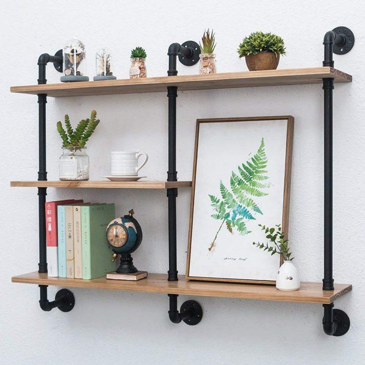 71MGtWy a2L. AC SL1201 - Best Industrial Shelves with Pipe 2020 [User Rated]