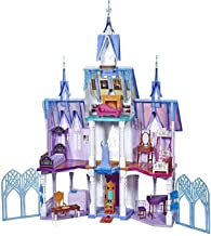 71OSYYJB0rL. AC UY218 ML3 - Disney Frozen Ultimate Arendelle Castle Playset Inspired by The Frozen 2 Movie, 5'. Tall with Lights, Moving Balcony, & 7 Rooms with Accessories by Disney Frozen