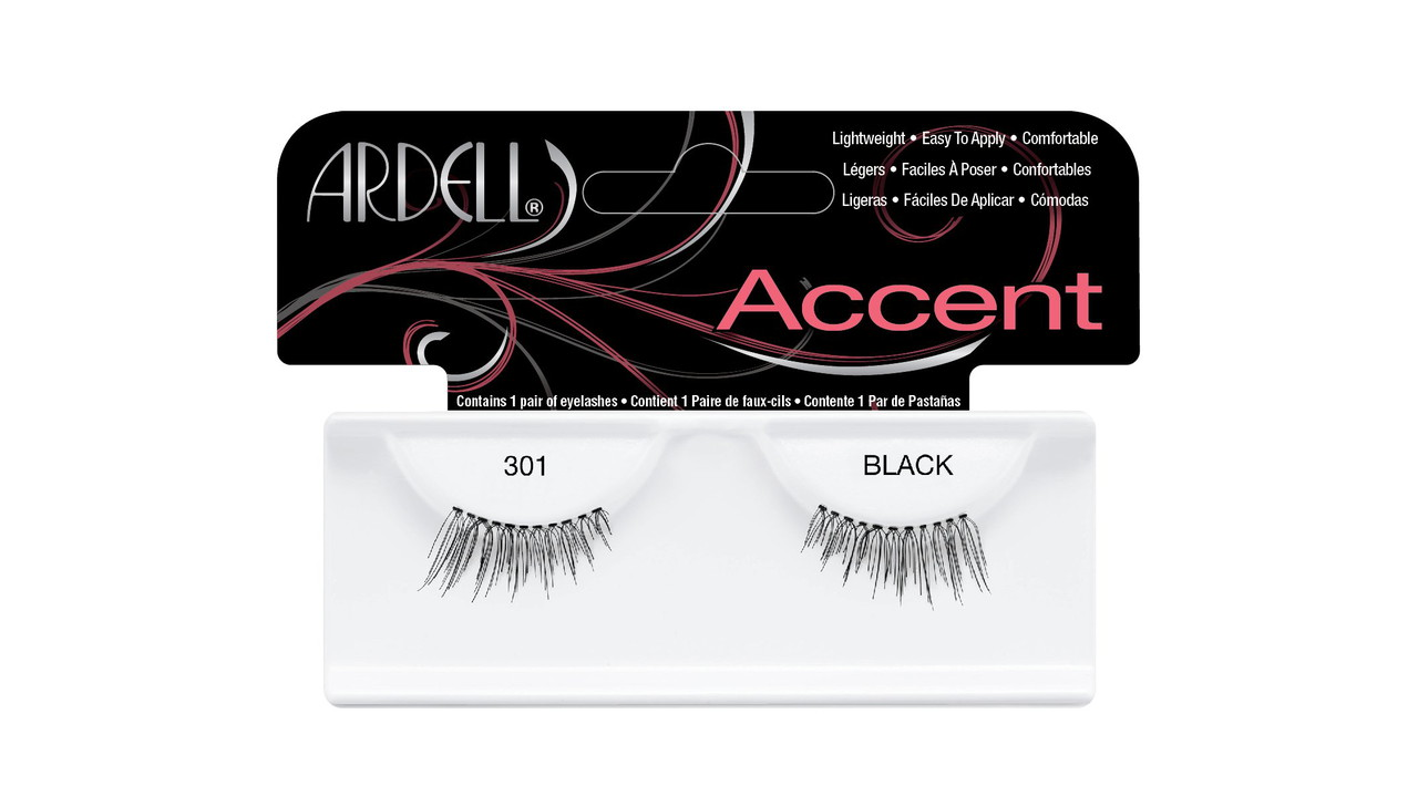 71PaMHQwPXL. SL1500  - Ardell Lash Accents Pair Style 301, Black (Pack of 4) by Andrea