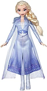 71hTmsHDW3L. AC UL320 ML3 - Disney Frozen Elsa Fashion Doll with Long Blonde Hair & Blue Outfit Inspired by Frozen 2 - Toy for Kids 3 Years Old & Up by Disney Frozen