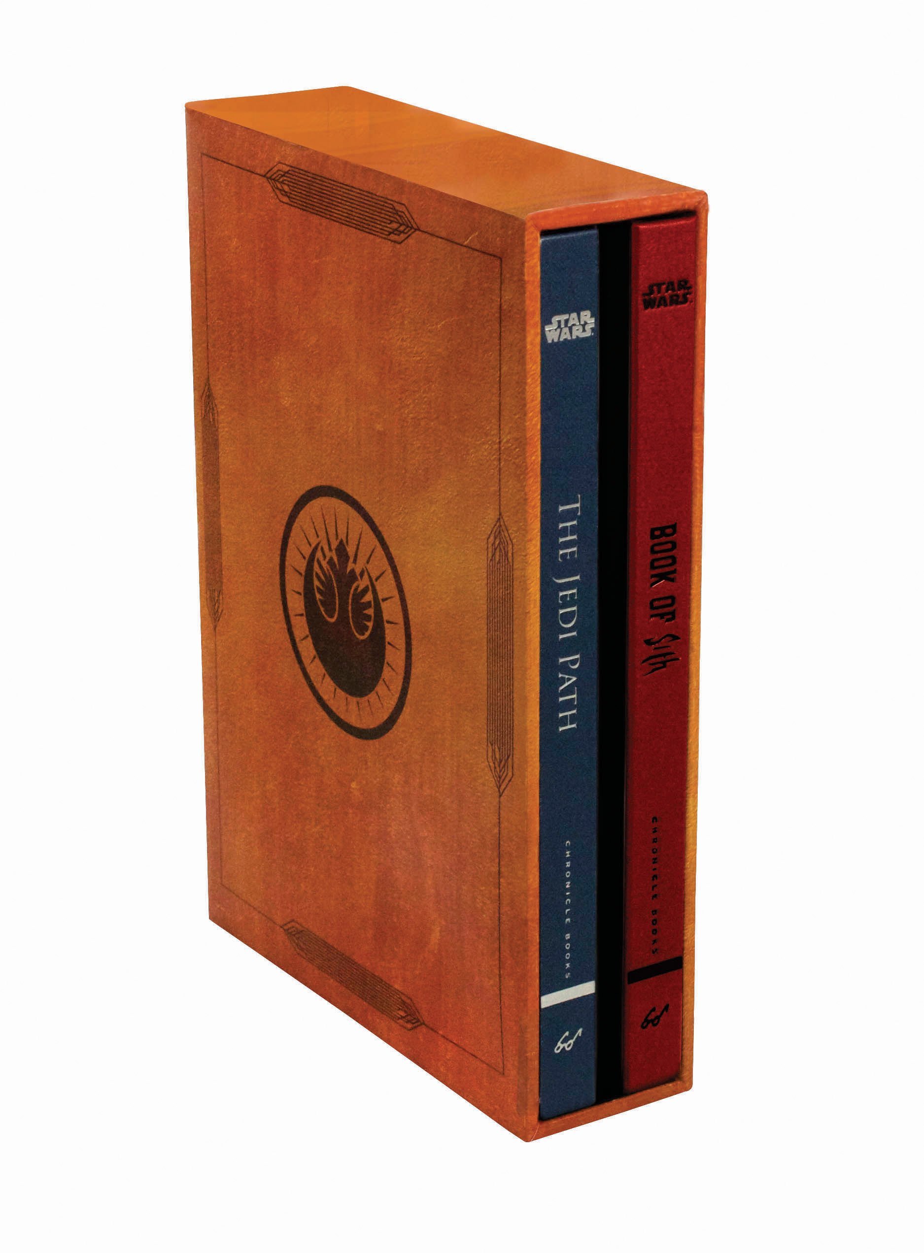 81KqSk09YCL - Star Wars®: The Jedi Path and Book of Sith Deluxe Box Set (Star Wars Gifts, Sith Book, Jedi Code, Star Wars Book Set) Hardcover – August 12,