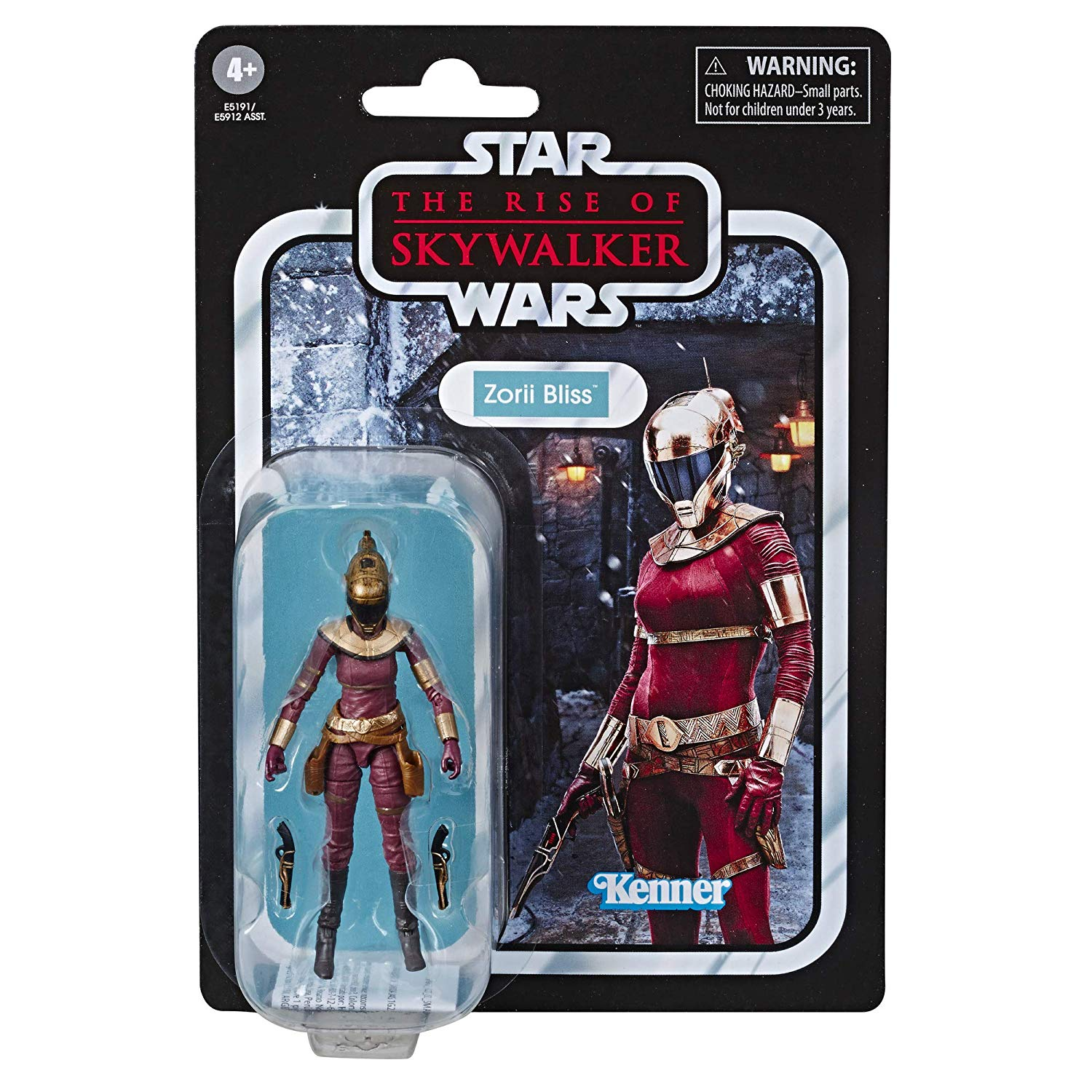 "81Tv5OcgR L. SL1500 - Star Wars The Vintage Collection The Rise of Skywalker Zorii Bliss Toy, 3.75"" Scale Action Figure, for Kids Ages 4 & Up"