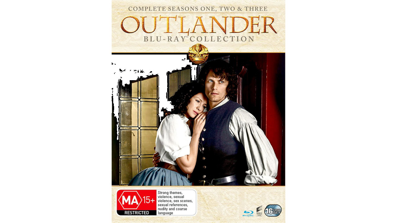 81Yueixd9L. SL1377  - Outlander: Seasons 1-3 [Blu-ray] [Region Free