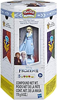 81nCnzGG0BL. AC UL320 ML3 - Play-Doh Mysteries Disney Frozen 2 Snow Globe Playset, Brown (E4904) by Play-Do