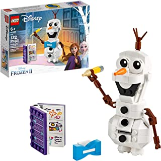 81q7vF295OL. AC UL320 ML3 - LEGO Disney Frozen II Olaf 41169 Olaf Snowman Toy Figure Building Kit Christmas Gift, New 2019 (122 Pieces) by LEGO