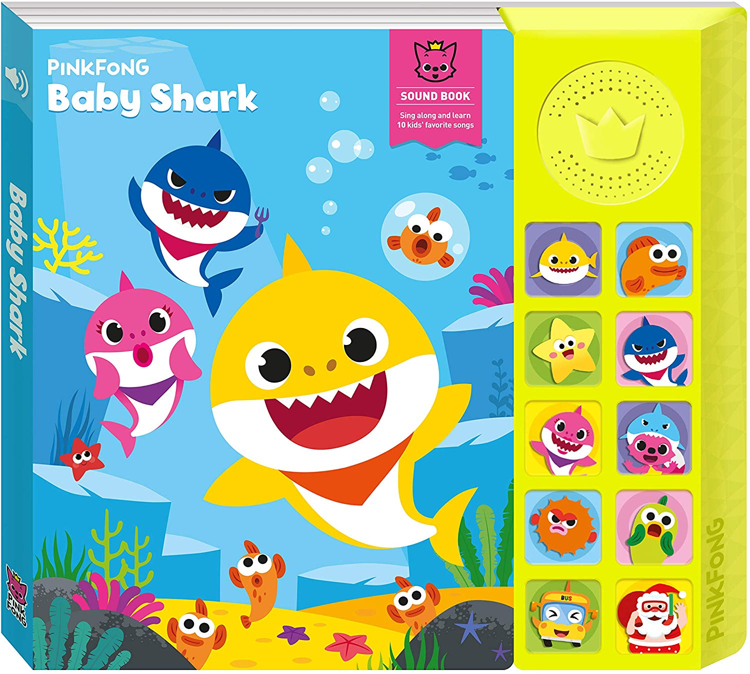 81qV KMGTzL. AC SL1500 - Pinkfong Baby Shark Official Sound Book