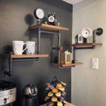 81tuv7CtAuL. AC SL1500 150x150 - Homissue 4-Shelf Rustic Pipe Shelving Unit