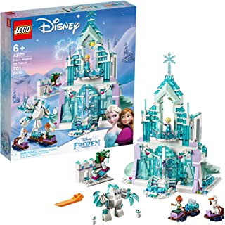 91MeMza SmL. AC UL320 ML3 - LEGO Disney Princess Elsa's Magical Ice Palace 43172 Toy Castle Building Kit with Mini Dolls, Castle Playset with Popular Frozen Characters Including Elsa, Olaf, Anna and More, New 2019 (701 Pieces) by LEGO