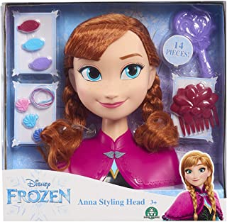 91x6 2jzkGL. AC UL320 ML3 - Disney Frozen Anna Styling Head by Disney Frozen