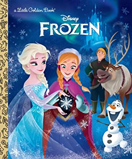 A1nVMAU1UCL. AC UL320 ML3 - Frozen (Disney Frozen) (Little Golden Book) Hardcover – July 21, 2015 by Victoria Saxon  (Author), Grace Lee (Illustrator), Andrea Cagol (Illustrator)