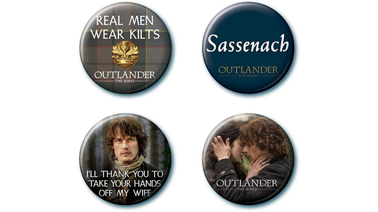 Ata Boy Outlander Set 1 - Ata-Boy Outlander Set of 4 Collectible Buttons