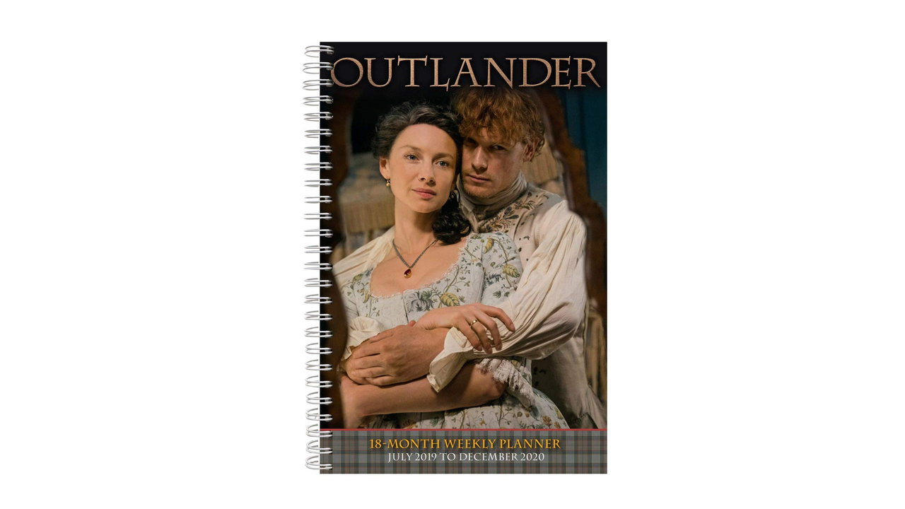Outlander 2020 18 Month Weekly Planner 7 - Outlander 2020 18-Month Weekly Planner July 2019 - December 2020 by SE