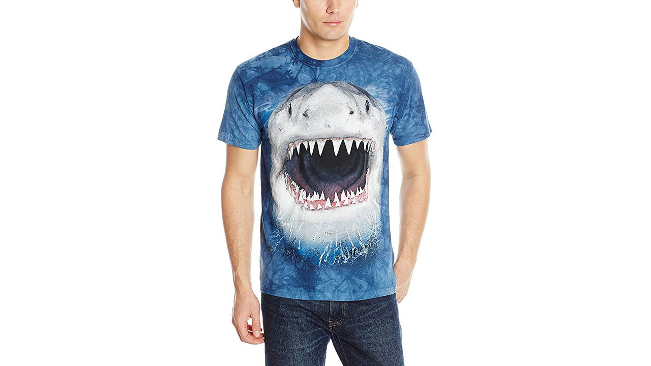 The Mountain Mens Wicked Nasty Shark Adult T Shirt 5 - Best Shark Tshirts for Men - Shark Lovers Gift Ideas 2020 [User Rated]